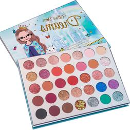 35 Colors Eyeshadow Palette Beauty Makeup Shimmer Matte Gift
