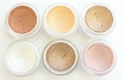 Grace My Face Minerals- New Eyeshadow Collection- Blushing