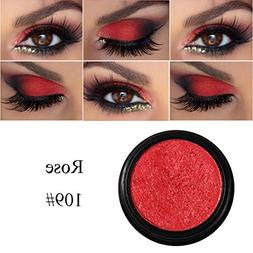 Orangeskycn Eye Cosmetic Set Shimmer Glitter Long Lasting Co