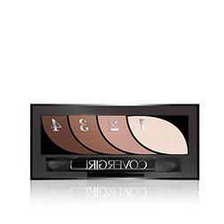 CoverGirl Eye Shadow Quads, Notice Me Nudes, .06 oz