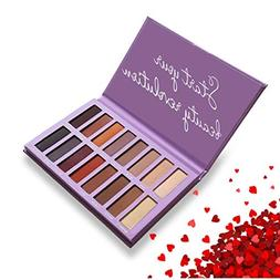 Best Pro Eyeshadow Palette Matte - 16 Highly Pigmented Makeu