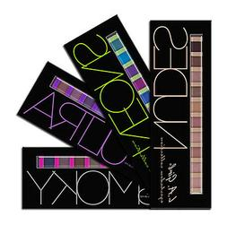 L.A Girl Brick Eyeshadow Palette Makeup Collection 4 Piece F