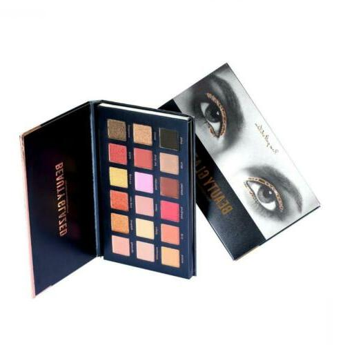 Beauty Glazed Colors Rose Textured Eyeshadow Palette