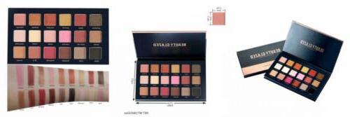 beauty glazed 18 colors rose gold textured