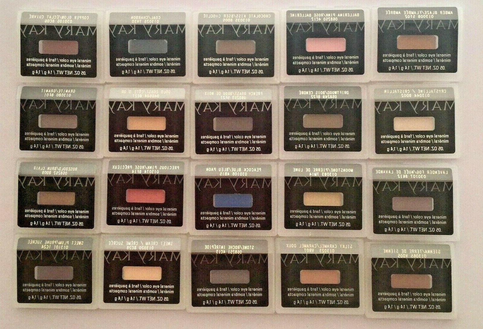 new discontinued mineral eye shadow choose your