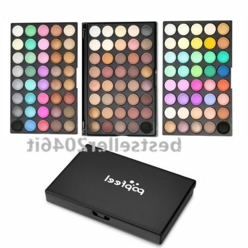 pro high pigmented 120 color eye shadow