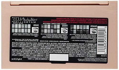 Maybelline Expert Wear Shadow Palette, The