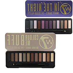 W7 Colour Me Buff Natural Nudes And In The Night Eye Shadow