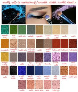 MINERAL PURE NATURAL MAKEUP MATTE LOOSE EYESHADOW EYE LINER