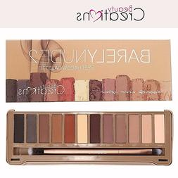Neutral Eye shadow Palette- Beauty Creations Barely NUDE 2 E